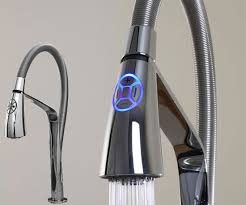 designer faucets kitchen aquabrass unveils high tech i spray electronic kitchen faucet