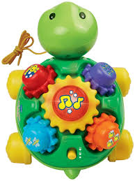 amazon com vtech roll and learn turtle toys u0026 games