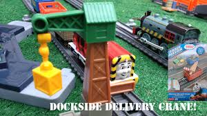 unboxing new and friends trackmaster dockside delivery
