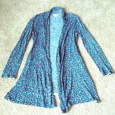 Blue Leopard Print 86 Off Lilly Pulitzer Sweaters Lilly Pulitzer Blue Leopard