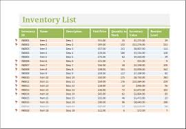 Inventory Excel Templates Inventory Worksheet Template For Excel Excel Templates