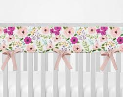 crib rail guard butterflies bumperless crib bedding crib