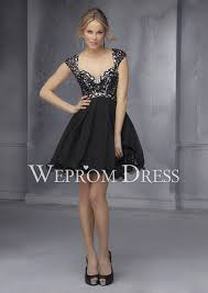 but elegant queen anne black short really cheap homecoming dress