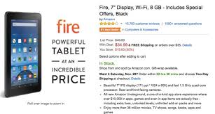 amazon fire black friday amazing kindle fire 7 inch tablet price on amazon product