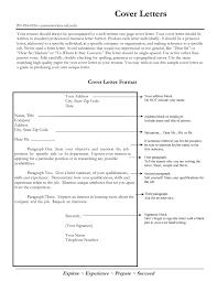 Job Application Cover Letter Format Cover Letter Spacing Format