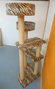 luxury large cat tree furniture with cat beds made in the uk