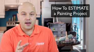 how to estimate a painting project youtube