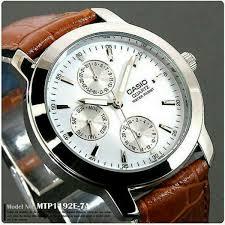 Jam Tangan Casio Mtp harga jam tangan casio pria mtp 1192e original pria terbaru mei 2018