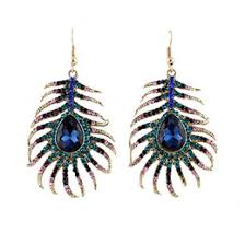 peacock feather earrings s peacock feather earrings necklace online peacock feather