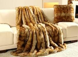 plaid marron pour canapé plaid canape style europacen canapac couverture de toile coton tissu