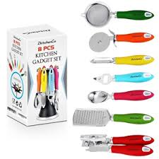 kitchen gadgets 2016 8 piece kitchen gadgets utensils cooking tools review great gadgets