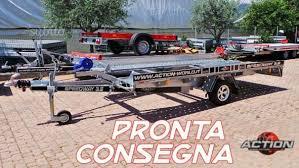 carrelli porta auto usati subito impresa srl usato carrello porta auto monoasse