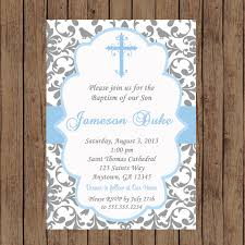 Invitation Cards For Dedication Of A Baby Boy Baptism Invitation Christening Invitation Baptism