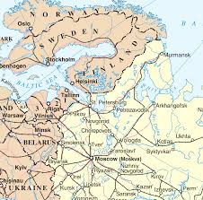 Highly Detailed River Map Of by Northwest Russia Wikipedia