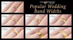 mens wedding ring guide five common myths about mens wedding ring width mens