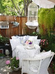 Shabby Chic Garden Decorating Ideas 16 Shabby Chic Garden Designs With Interior Furniture Top Easy