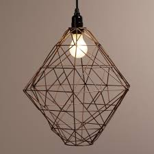 wire pendant light fixtures over sink 70 requires a ceiling mounting kit copper hexagon