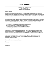 making a cover letter for resume best legal assistant cover letter examples livecareer create my cover letter