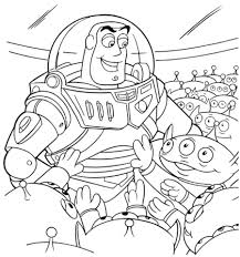 alien buzz lightyear coloring toy story category