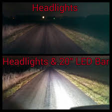 Brightest Led Light Bar by Custom Offsets 20 U2033 Olb Off Road Led Light Bar Review
