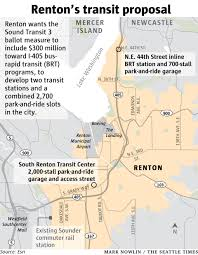 Link Light Rail Map Renton Tired Of Paying A Lot Getting Few Buses No Light Rail