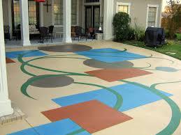 Industrial Concrete Floor Coatings Interior Decorative Epoxy Flooring With Regard To Pleasant Epoxy