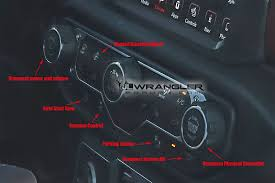 interior jeep wrangler 2018 jeep wrangler jl jlu first look at the production interior