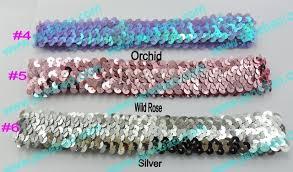 sequin headbands aliexpress buy free shipping mix color 220pcs 1 sequin