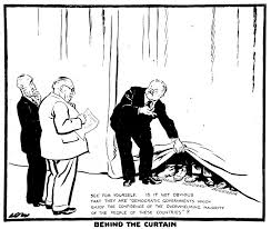 Eastern Europe Iron Curtain Cartoon By Low On Moscow U0027s Policy Regarding The Countries Of
