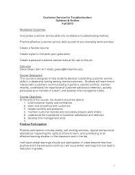 Resume Objective Example For Customer Service by Resume Objective Samples Customer Service Resume For Your Job