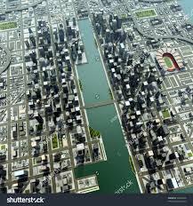 top down view modern city stock illustration 38466076 shutterstock