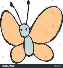 simple butterfly illustration stock vector 104343848 shutterstock
