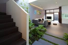 landing area with green touch u2013 sophisticated modern penthouse