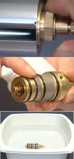 d駑onter robinet cuisine démonter nettoyer une tête de mitigeur thermostatique
