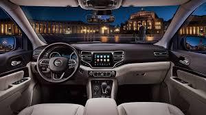 luxury jeep interior 2018 jeep commander interior design showcased in new photos