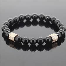 black bead bracelet men images Black onyx bracelet for men best bracelet 2018 jpg
