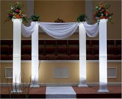 wedding arches and columns jan s party rental wedding supplies