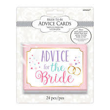 advice for the cards bridal shower advice cards ebay