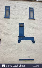 Build A Victorian House White And Blue House Old Victorian Build With Blue Window Frames