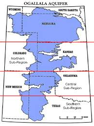 Map Of Nebraska And Colorado by Map Of The Ogallala Aquifer And The Great Plains Region Figure
