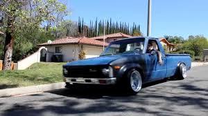 stanced toyota slammed 79 u0027 toyota hilux mini truck v2 youtube