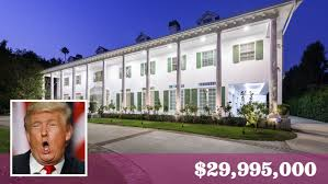 donald trump home high price of living next door to donald trump in l a 30 million