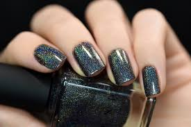 amazon com ilnp missed calls black holographic nail polish