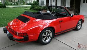 1983 porsche 911 sc convertible porsche 911 sc cabriolet a 28 000 mile survivor