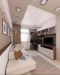 Man Bedroom by Young Man Bedroom Interior Design Render 3d U2014 Stock Photo