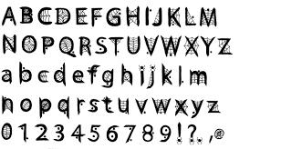 13 spider web lettering fonts images halloween spider web font