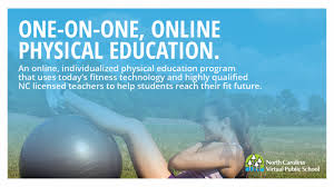 online pe class high school physical education with ncvps carolina school