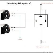 horn relay diagram horn relay how it works u2022 wiring diagram