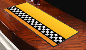 new york taxi door design bar runner great for home bar shop