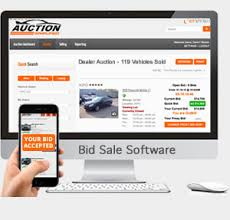 bid auction websites dealer simplified auction software used car classified and